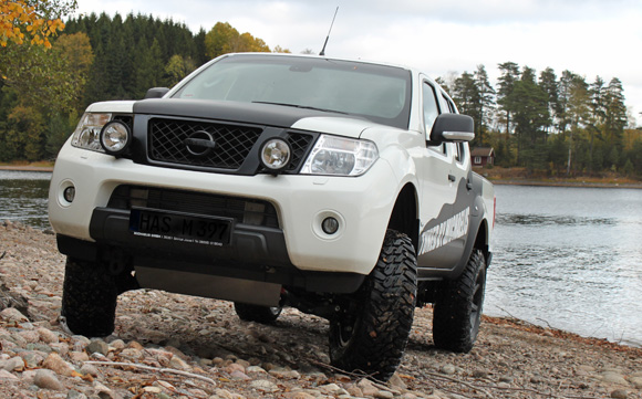 Lift Kit For Ford Ranger Michaelis Tuning - Nissan Navara D40