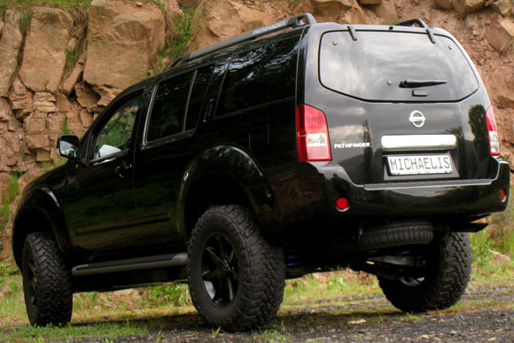 Our Off Road Package For The Nissan Pathfinder .